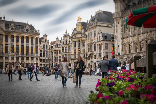 náměstí v Brusselu