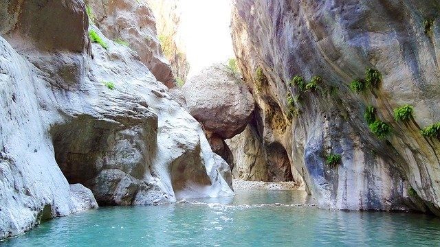 Goynuk kaňon v Turecku