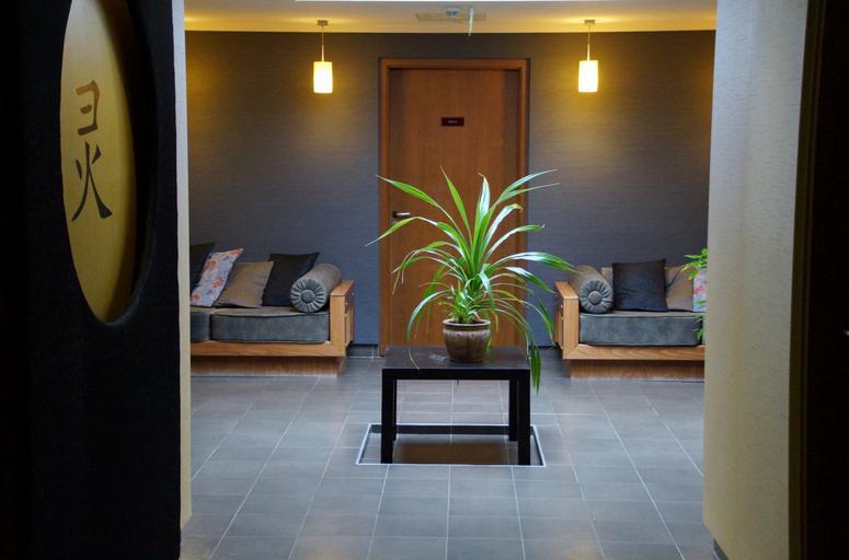 Relaxačný, masérsky podnik, interiér